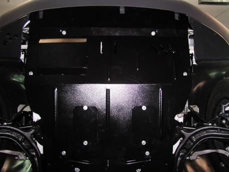 Фото Защита двигателя Volkswagen T5 2003-2009, 2009-2015 Кольчуга