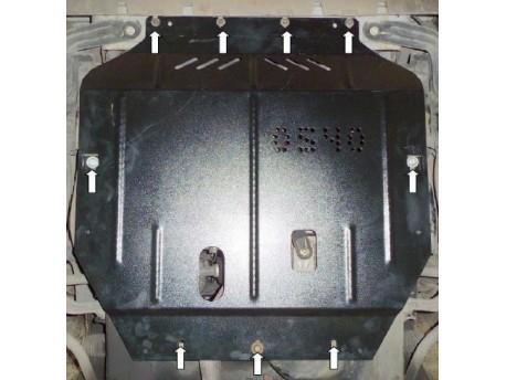 Фото Защита двигателя BYD G6 2013- V-1.5 turbo Кольчуга