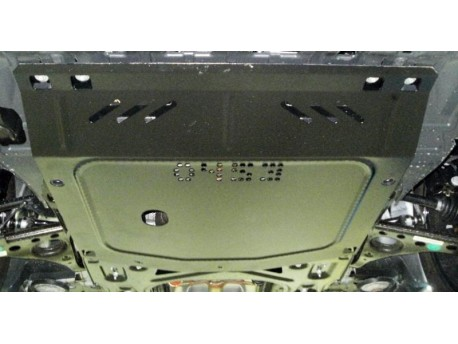 Фото Защита двигателя Chevrolet Tracker 2013- Кольчуга