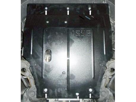 Фото Защита двигателя Fiat Freemont 2011- Кольчуга