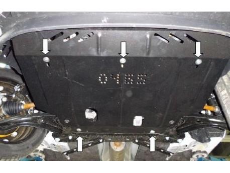 Фото Защита двигателя Ford Fiesta 2013- V-1.0 Кольчуга