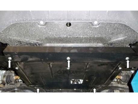 Фото Защита двигателя Ford Transit Custom 2013- Кольчуга