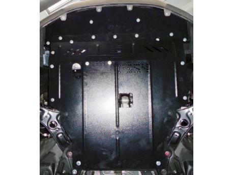 Фото Защита двигателя Hyundai Elantra 2011-2016 V-1.6 Кольчуга ZiPoFlex