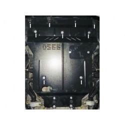 Защита двигателя Lexus GS 2005-2012 задний привод Кольчуга