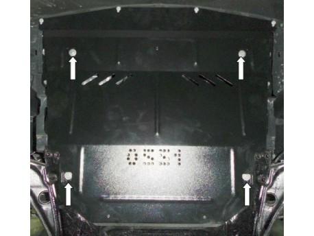 Фото Защита двигателя Nissan Qashqai 2013- Кольчуга