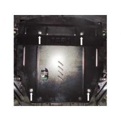 Защита двигателя и редуктора Nissan X-Trail 2014- Кольчуга
