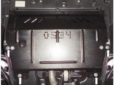 Фото Защита двигателя Peugeot 208 2012- Кольчуга