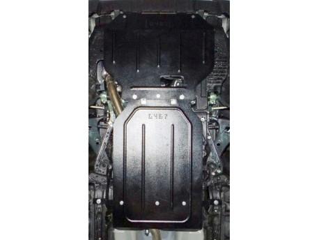 Фото Защита двигателя Subaru Forester 2013- Кольчуга ZiPoFlex