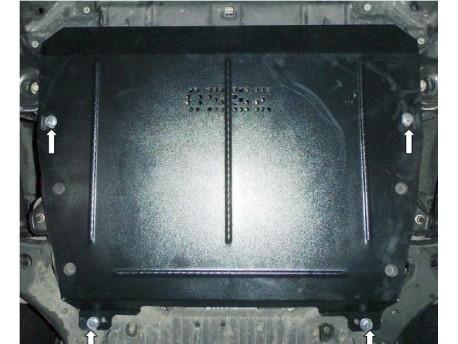 Фото Защита двигателя Toyota Highlander 2014- Кольчуга