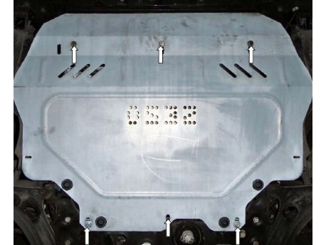 Фото Защита двигателя Volkswagen Beetle 2011- Кольчуга