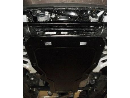 Фото Защита двигателя Volkswagen Touareg 02-10, 2010- Кольчуга
