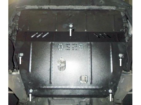 Фото Защита двигателя Volvo XC60 2008-2013, 2013- Кольчуга
