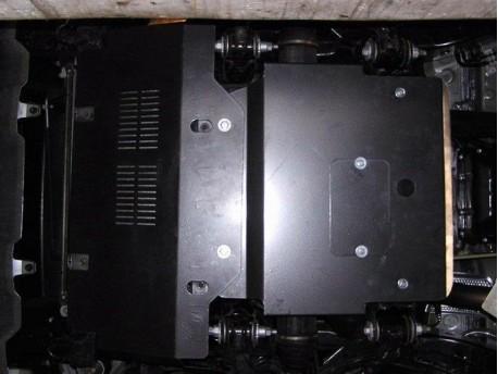 Фото Защита двигателя Toyota Land Cruiser Prado 2002-2009 Кольчуга