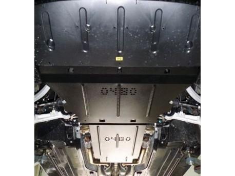 Фото Защита двигателя Hyundai Equus 2009- Кольчуга