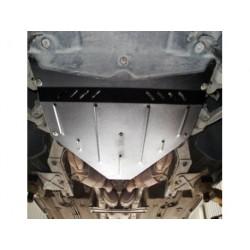 Защита двигателя и редуктора Maserati Quattroporte 2008-2012 Кольчуга ZiPoFlex