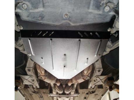Фото Защита двигателя и редуктора Maserati Quattroporte 2008-2012 Кольчуга ZiPoFlex