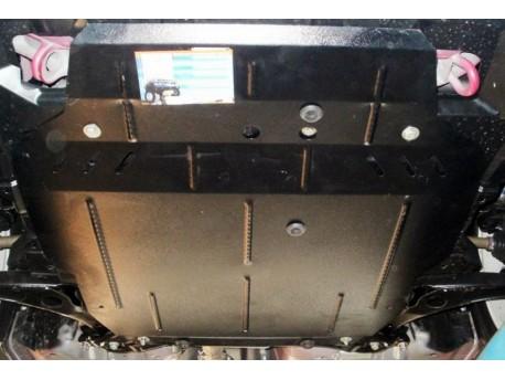 Фото Защита двигателя Mitsubishi Outlander XL 2009-2012, 2007-2010 Кольчуга