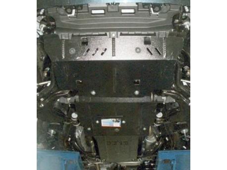 Фото Защита двигателя Toyota Land Cruiser Prado 2009-2013, 2013- V-2.7 i, 3.0 D Кольчуга