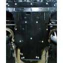Защита двигателя Audi A4 2015- Кольчуга