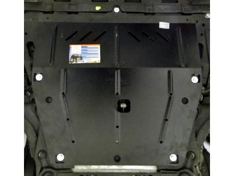 Фото Защита двигателя Renault Captur 2013- Кольчуга