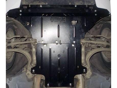 Фото Защита двигателя Audi A4 2007-2015 Кольчуга