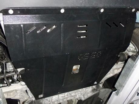 Фото Защита двигателя Jeep Cherokee 2014- Кольчуга