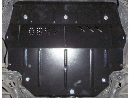 Фото Защита двигателя Volkswagen Polo 2009- V-1.2 D, 1.6i Кольчуга