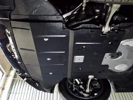 Фото Защита двигателя BMW 5 Series 2010- Кольчуга