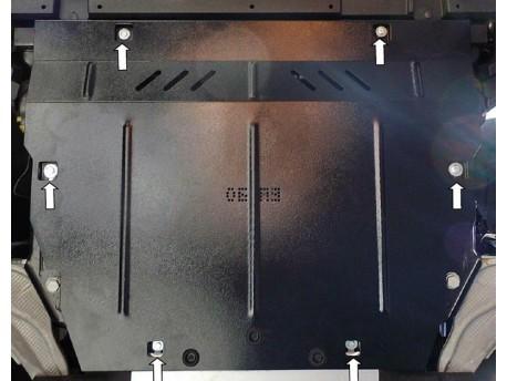 Фото Защита двигателя Ford Edge 2015- Кольчуга