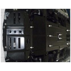 Защита двигателя, раздатки и редуктора Great Wall Wingle 2014- Кольчуга