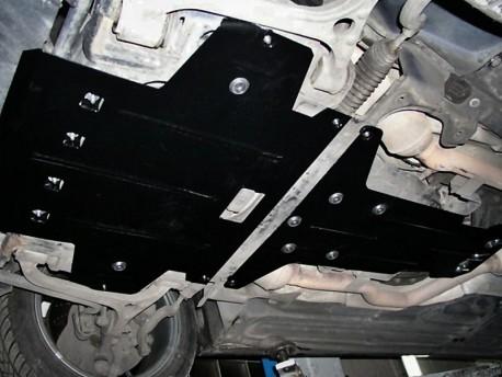 Фото Защита двигателя Mercedes E-Class W211 2002-2009 Кольчуга