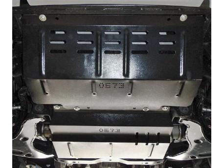 Фото Защита двигателя и редуктора Mitsubishi L200 2016- Кольчуга