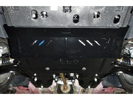 Фото Защита двигателя Peugeot 2008 2012- V-1.2i Кольчуга