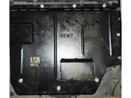 Фото Защита двигателя Peugeot Boxer 1994-2006 с кондиционером Кольчуга