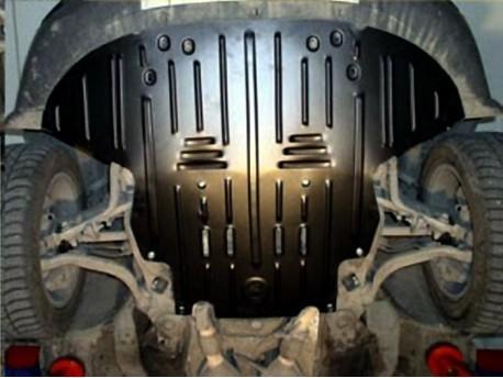 Фото Защита двигателя 2.5 мм для Audi A6 Allroad 2000-2006 Полигон-Авто