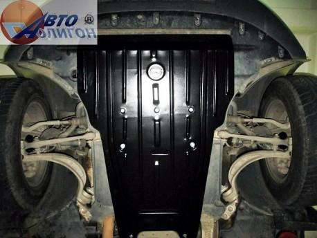 Фото Защита двигателя 2.5 мм для Audi Q5 2008-2016 Полигон-Авто