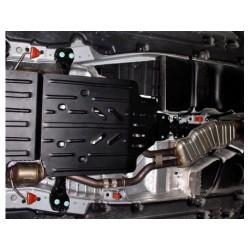 Защита раздатки 2.5 мм для Audi Q7 2006-2015 Полигон-Авто