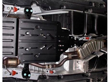 Фото Защита раздатки 2.5 мм для Audi Q7 2006-2015 Полигон-Авто