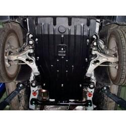 Защита двигателя 2.5 мм для Audi Q7 2006-2015 Полигон-Авто