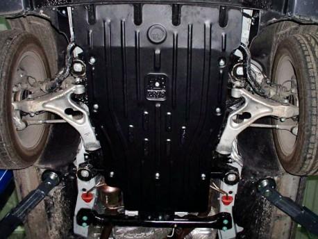 Фото Защита двигателя 2.5 мм для Audi Q7 2006-2015 Полигон-Авто