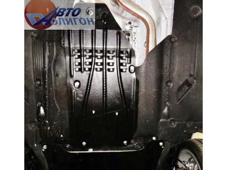 Фото Защита КПП 2 мм для BMW 4 Series 2014- Полигон-Авто