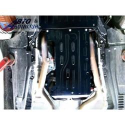 Защита КПП 2.5 мм для BMW X6 2008-2014 Полигон-Авто