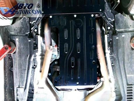 Фото Защита КПП 2.5 мм для BMW X6 2008-2014 Полигон-Авто