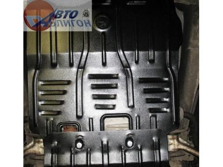 Фото Защита КПП 2.5 мм для Cadillac Escalade 2007-2014 Полигон-Авто