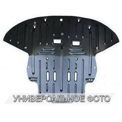 Защита двигателя 2.5 мм для Citroen DS4 2016- Полигон-Авто