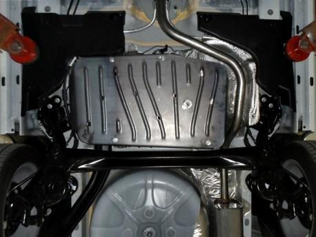Фото Защита топливного бака 2.5 мм для Fiat 500 2012- Полигон-Авто