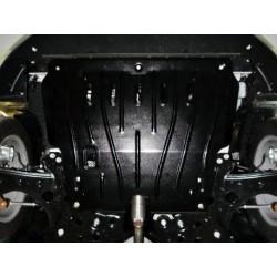 Защита двигателя 2.5 мм для Fiat 500 2012- Полигон-Авто