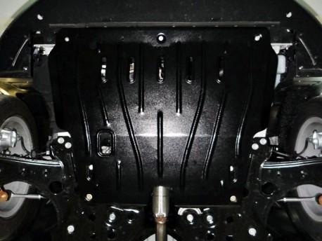 Фото Защита двигателя 2.5 мм для Fiat 500 2012- Полигон-Авто
