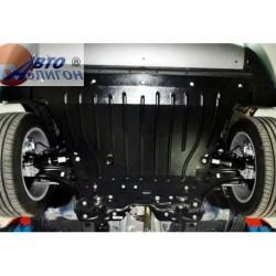Защита двигателя 2 мм для Fiat 500 2014- Полигон-Авто