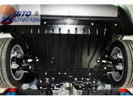 Фото Защита двигателя 2 мм для Fiat 500 2014- Полигон-Авто